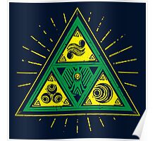 The Tribal Triforce Poster