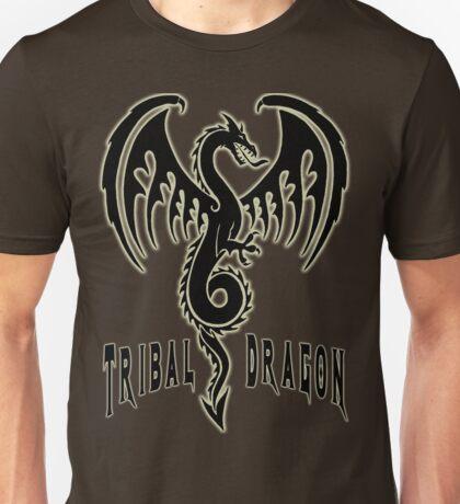 Tribal dragon Unisex T-Shirt