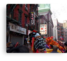 Chinese New Year, NYC No.1  Canvas Print