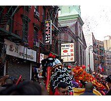Chinese New Year, NYC No.1  Photographic Print