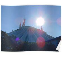 Space Mountain- Magic Kingdom Poster