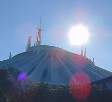 Space Mountain- Magic Kingdom by caileystavern
