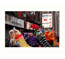 Chinese New Year, NYC No.2 Art Print