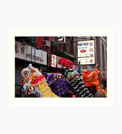Chinese New Year, NYC No.2 Art Print