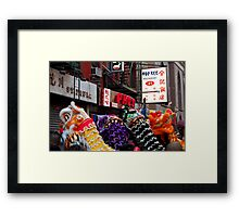 Chinese New Year, NYC No.2 Framed Print