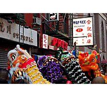 Chinese New Year, NYC No.2 Photographic Print