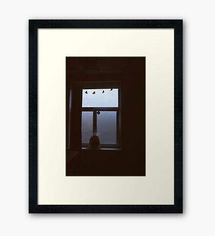 Time Travel. Framed Print