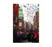 Chinese New Year, NYC No.3 Art Print