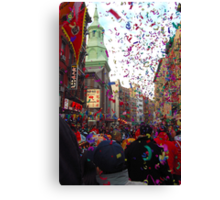 Chinese New Year, NYC No.3 Canvas Print