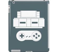 Let's Play SNES (White iPad Case/Skin