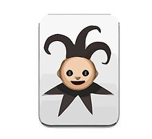 Playing Card Black Joker Apple / WhatsApp Emoji by emoji