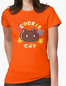 Steven Universe- Cookie Cat Womens Fitted T-Shirt