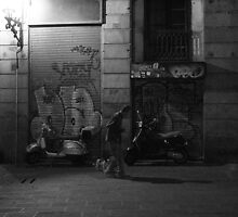 Barcelona Backstreet by Mark Hughes