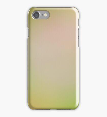 Blurry Green iPhone Case/Skin