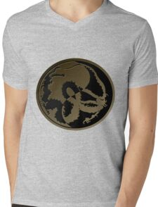 Disc DragonT2 Mens V-Neck T-Shirt