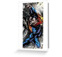 Superheroes Comic Greeting Card