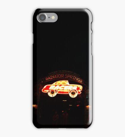 Radiator Springs Racers iPhone Case/Skin