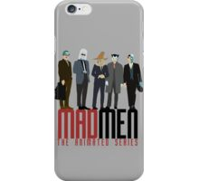 Mad Men The Animated Series iPhone Case/Skin