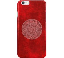 RED LABYRINTH iPhone Case/Skin