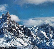 Dolomiti: Pale di San Martino by Andrea Rapisarda