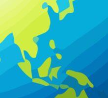 Earth Globe Asia-Australia Apple / WhatsApp Emoji Sticker