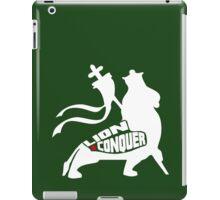 LION CONQUER WHITE iPad Case/Skin