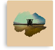 Eroded Composition | Two Canvas Print