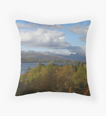 Lake Windemere Throw Pillow
