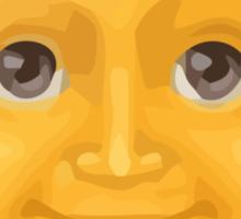 Sun With Face Apple / WhatsApp Emoji Sticker