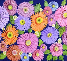 Daisies by Thecla Correya