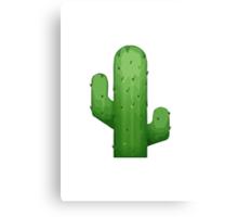 Cactus Apple / WhatsApp Emoji Canvas Print