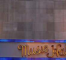 City Lights: Radio City Music Hall by maxwell78