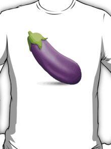 Aubergine Apple / WhatsApp Emoji T-Shirt
