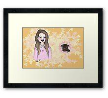 Me & My Baby (Zoe & Nala) Framed Print