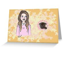 Me & My Baby (Zoe & Nala) Greeting Card