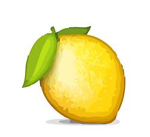 Lemon Apple / WhatsApp Emoji by emoji