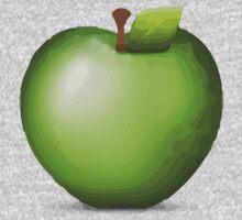 Green Apple Apple / WhatsApp Emoji Kids Clothes