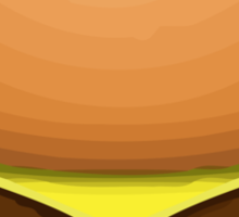 Hamburger Apple / WhatsApp Emoji Sticker