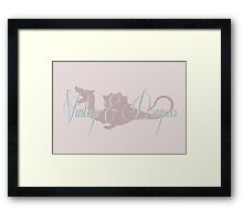 Vintage & Dragons reprise Framed Print
