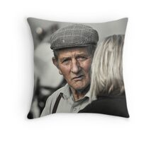 Penny For Your Thoughts  Throw Pillow