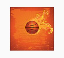 Fire Basketball Ball Background 2 T-Shirt