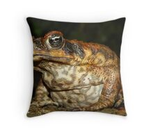 Mr Ugly Throw Pillow