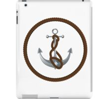 Anchor with rope 2 iPad Case/Skin