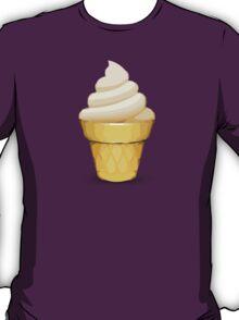 Soft Ice Cream Apple / WhatsApp Emoji T-Shirt