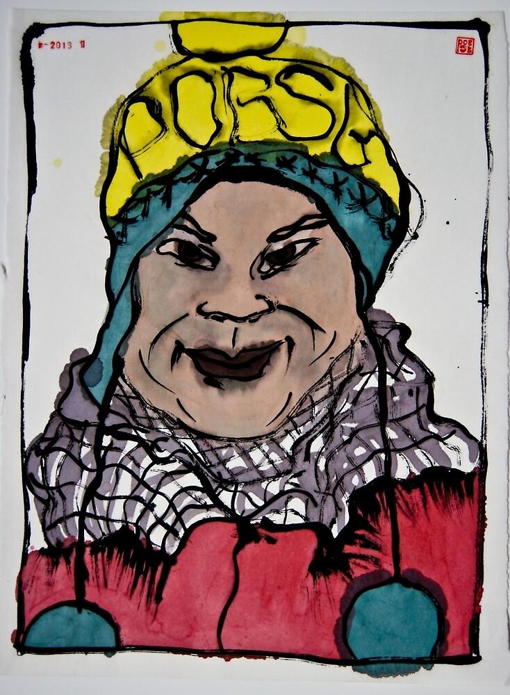 Winterportrait 4 by pobsb
