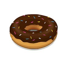 Doughnut Apple / WhatsApp Emoji by emoji