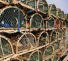 Lobster Traps by HighHeadArtwork