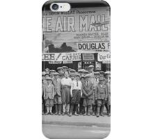 Children at the Movies, 1925 iPhone Case/Skin