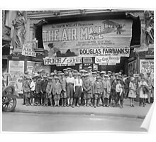 Children at the Movies, 1925 Poster