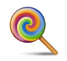 Lollipop Apple / WhatsApp Emoji by emoji